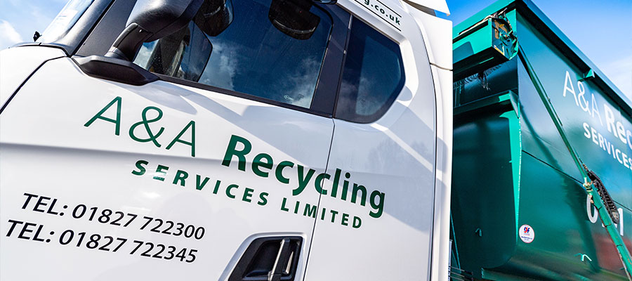 A&A Recycling Container Truck